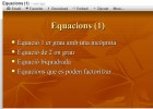 Equacions | Recurso educativo 37633