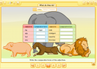 Comparing animals | Recurso educativo 38574