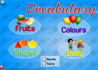 Vocabulary games | Recurso educativo 39989