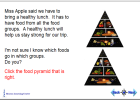 Right track to healthy eating | Recurso educativo 42052