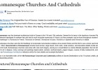 Romanesque Churches and Cathedrals | Recurso educativo 44404