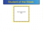 Student of the week | Recurso educativo 46056