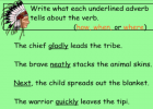 Adventures with adverbs | Recurso educativo 46408