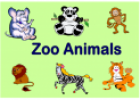 Zoo animals (flashcards) | Recurso educativo 18154