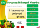 Prepositional verbs | Recurso educativo 62000