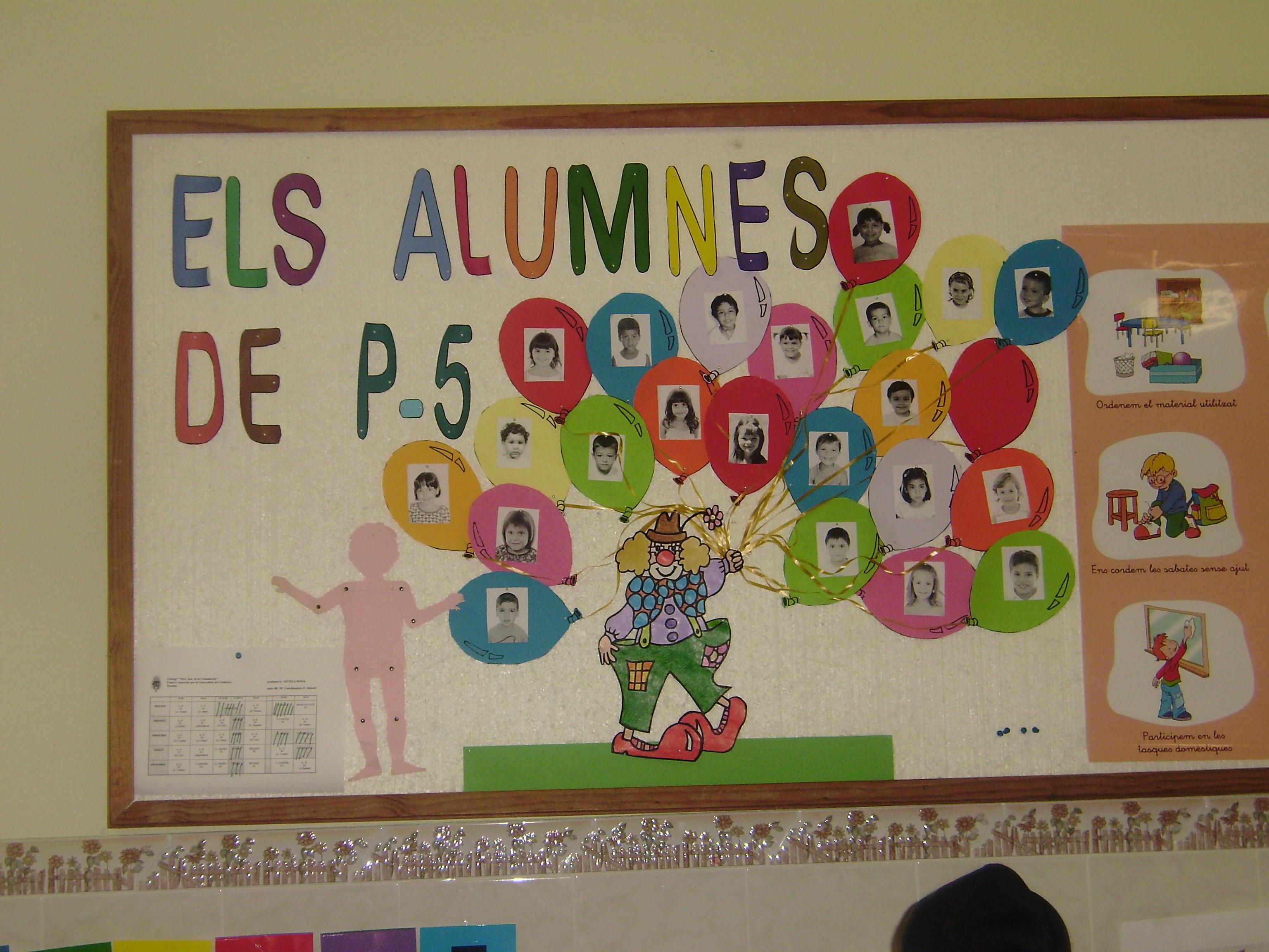 mural de alumnos recurso educativo