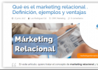 Marketing relacional | Recurso educativo 768943